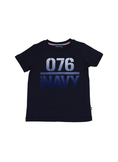 North Of Navy Tişört Lacivert